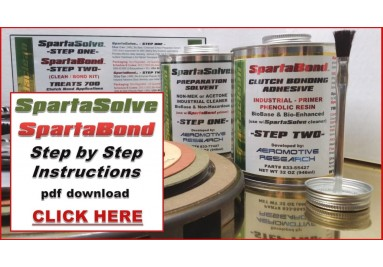 Step two Spartabond
